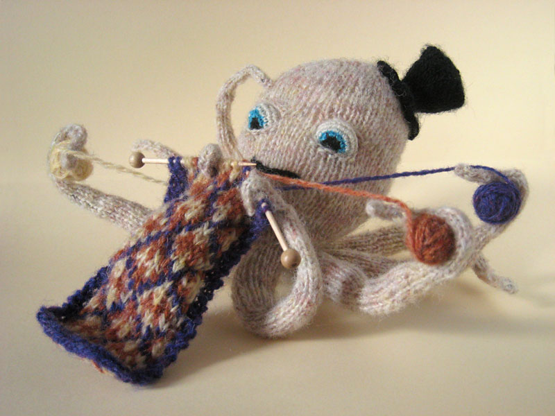 Knitting Octopus