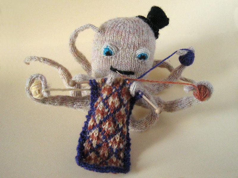 Octopus Knitting Pattern : Knitting Octopus   Pattern