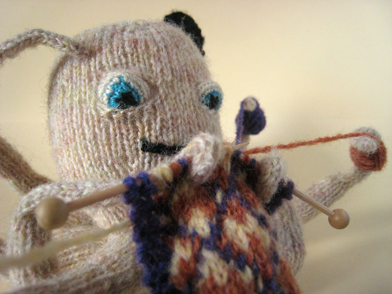 Octopus Knitting Pattern : Knitting Octopus