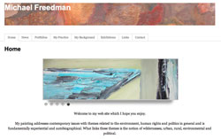 Michael Freedman Painter
