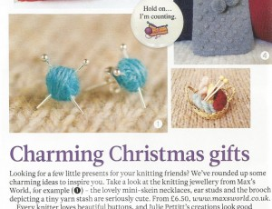 Knitting Jewellery - The Knitter - Issue 51