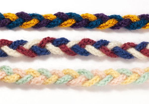 Knitted Bracelet Colours