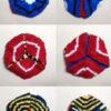 Knitted Hexaflexagon