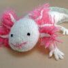 Knitted Axolotl