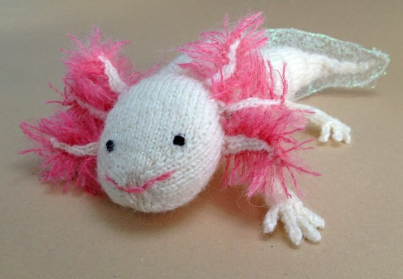 Knitted Axolotl