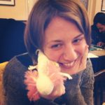 Me and the Knitted Axolotl