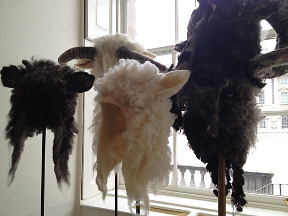 Sheep Hats at Wool House