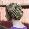 Striped Beret Knitting Pattern