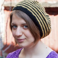 Striped Beret Knitting Pattern