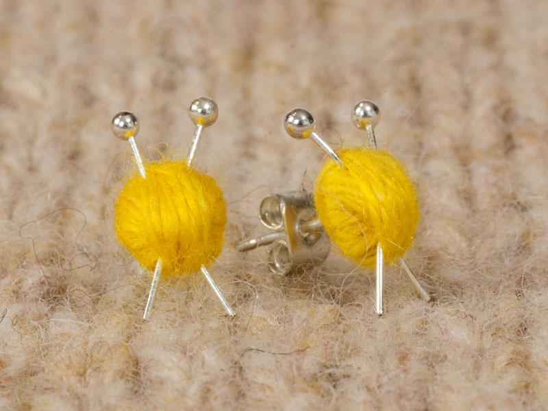 Ear Knits Stud Earrings Max S World
