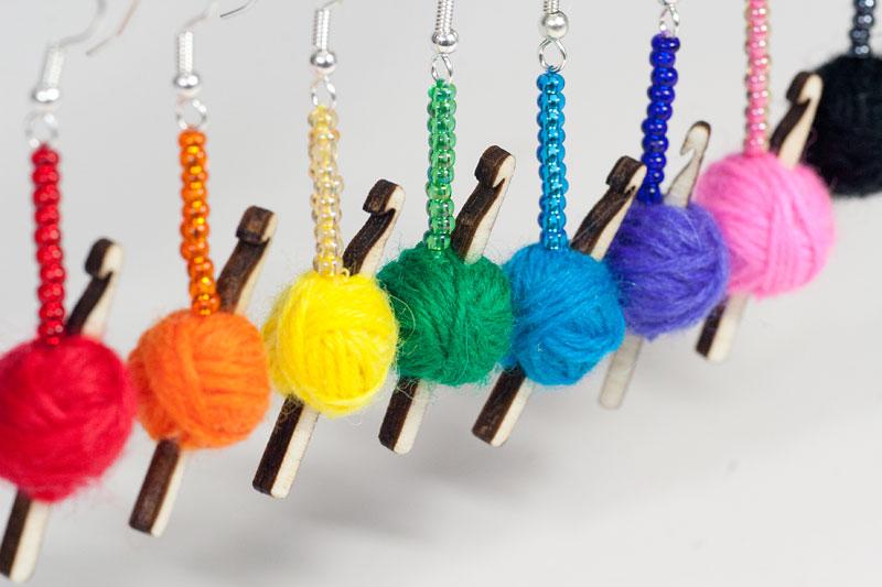 Crochet Hook Earrings Maxs World