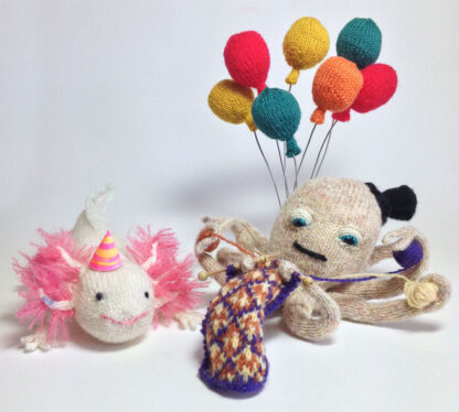 Knitted Birthday Party