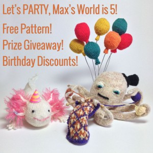 Max's World Knitted Birthday