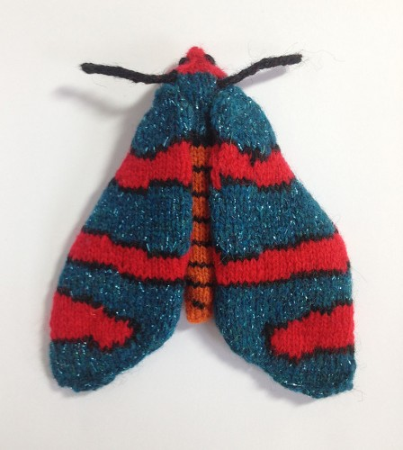 Fire Grid Burnet Moth