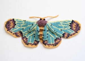 Knitted Moths