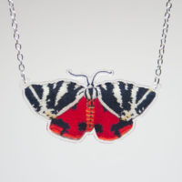 Jersey Tiger Moth Necklace