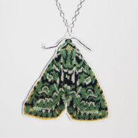Moth Necklaces