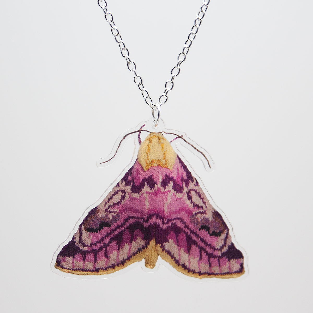 Pease Blossom Moth Necklace