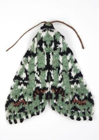 Knitted Scarce Merveille du Jour Moth