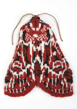 Knitted True Lover's Knot Moth