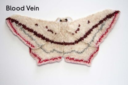 Knitted Blood Vein Moth
