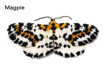 Knitted Magpie Moth