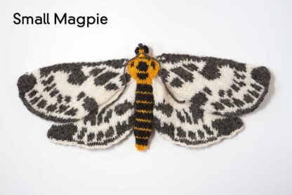 Knitted Small Magpie Moth