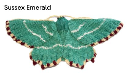 Knitted Sussex Emerald Moth