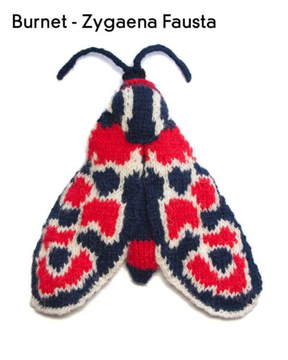 Knitted Zygaena Fausta