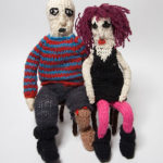 knitted animated characters