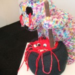 knitted gore sculpture