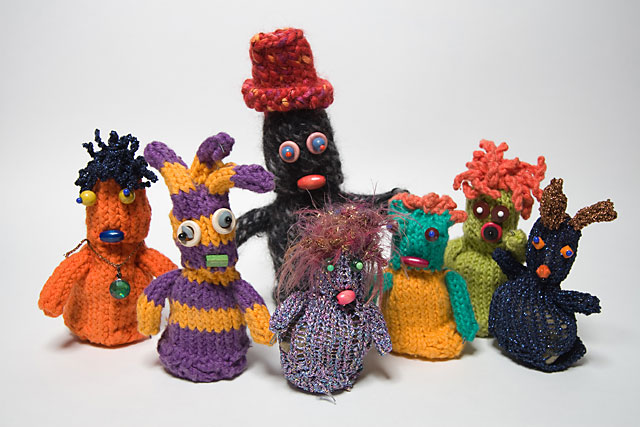 The Knitties animated characters
