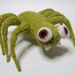 knitted gangster spider