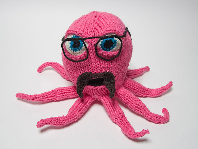 Knitted Tony Harrison